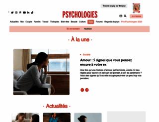 psychologies.com screenshot