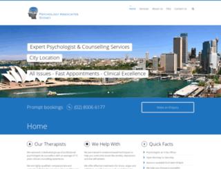 psychologist-sydneycbd.com.au screenshot