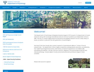 psychology.boun.edu.tr screenshot