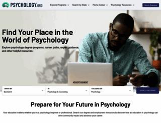 psychology.org screenshot