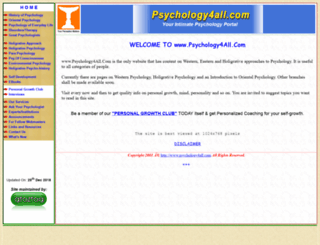 psychology4all.com screenshot