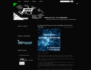psychonumberz.blogspot.com screenshot