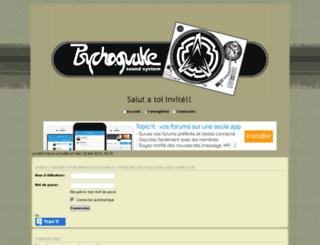psychoquake.forumt.biz screenshot