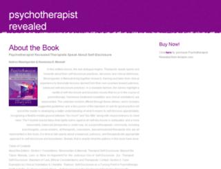 psychotherapistrevealed.com screenshot