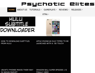 psychoticelites.tk screenshot