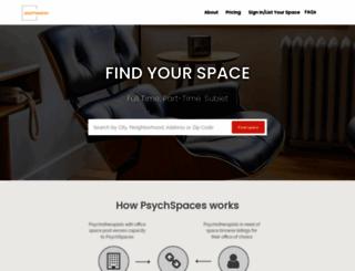 psychspaces.com screenshot