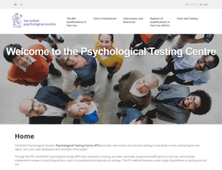 psychtesting.org.uk screenshot
