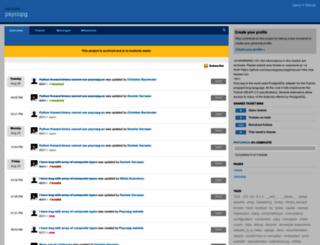 psycopg.lighthouseapp.com screenshot