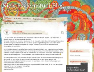 psyfernstudi.wordpress.com screenshot