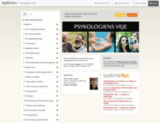 psykologiensveje.systime.dk screenshot