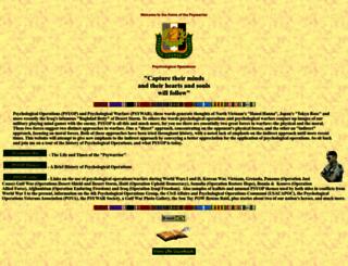 psywarrior.com screenshot