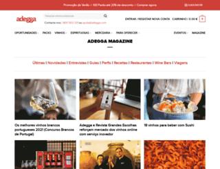 pt.adegga.com screenshot