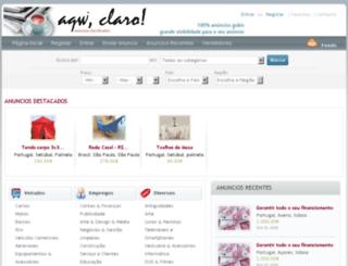 pt.aquiclaro.com screenshot