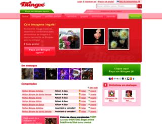 pt.blingee.com screenshot