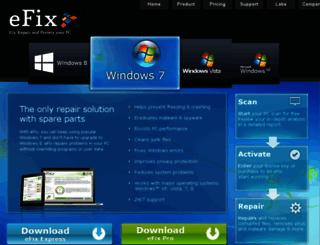 pt.efix.com screenshot