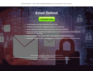 pt.emaildefend.com screenshot