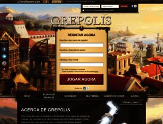 pt.grepolis.com screenshot