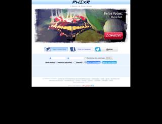 pt.phixr.com screenshot