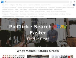 pt.picclick.com screenshot