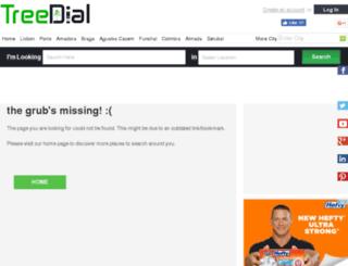 pt.treedial.com screenshot