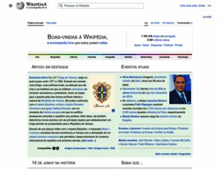 pt.wikipedia.com screenshot