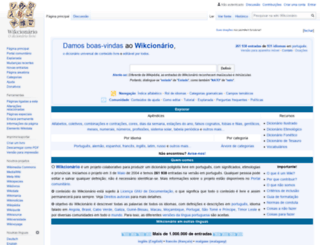 pt.wiktionary.org screenshot