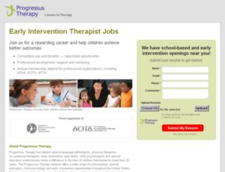 pt2a.progressustherapy.com screenshot