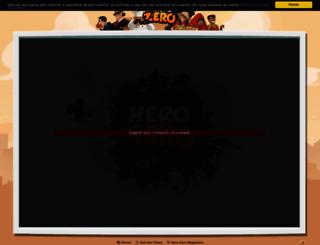 pt4.herozerogame.com screenshot