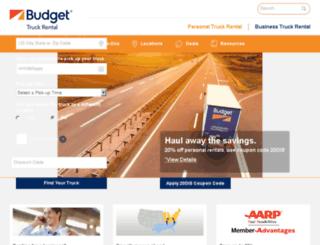 ptc2.budgettruck.com screenshot