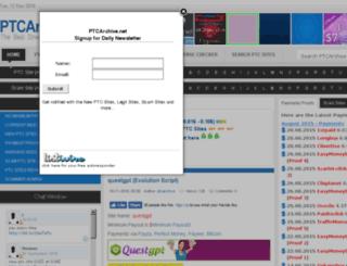 ptcarchive.net screenshot