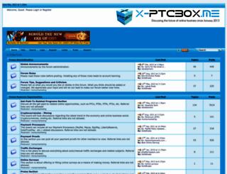 ptcbox.me screenshot