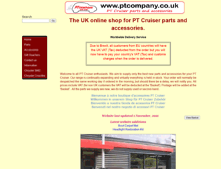 ptcompany.co.uk screenshot