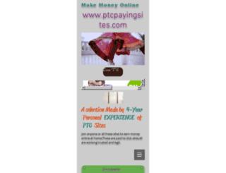 ptcpayingsites.com screenshot