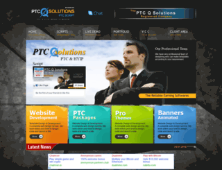 ptcqsolutions.com screenshot