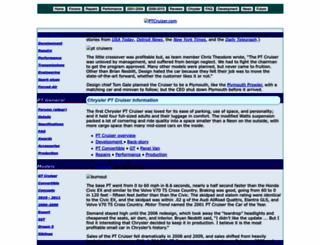ptcruizer.com screenshot