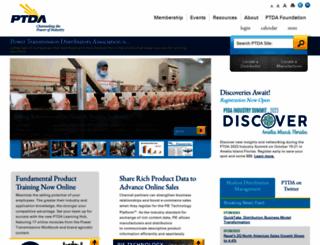 ptda.org screenshot