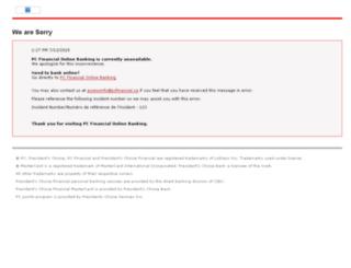 pte.www.txn.banking.pcfinancial.cibc.com screenshot