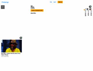 pthc.chatango.com screenshot