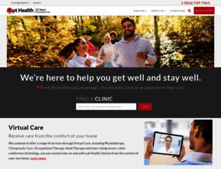 pthealth.ca screenshot