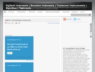 ptindotek.worpress.com screenshot