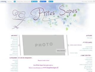 ptitesapes.canalblog.com screenshot