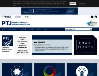 ptjournal.apta.org screenshot