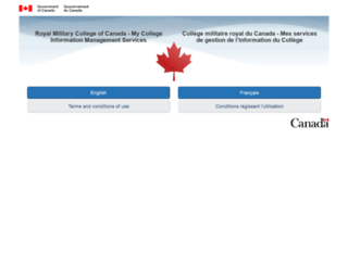 ptl.rmc.ca screenshot