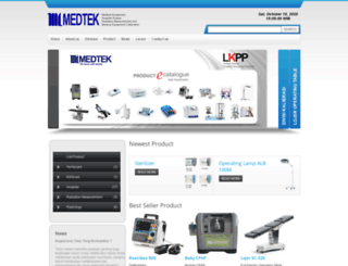 ptmedtek.com screenshot