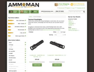 pts-flashlights.com screenshot