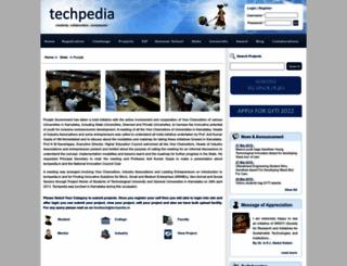 ptu.techpedia.in screenshot