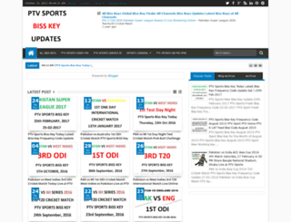 ptv-sports-biss-key.blogspot.com screenshot
