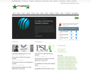 ptvsports.pk screenshot