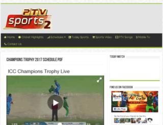 ptvsports2.pk screenshot