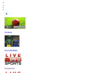 ptvsportslive.livestreaming.com.pk screenshot